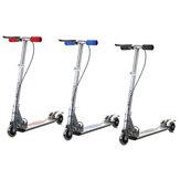AleacióndealuminioplegableNiñosniños Scooter Altura ajustable 3 ruedas ligeras