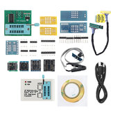EZP2019 High-speed USB SPI Programmer Support24 25 93 EEPROM 25 Flash BIOS Chip + 12 Adapters