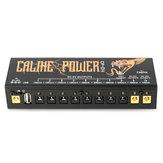 Caline CP-04 Pedal de Efeitos de Guitarra Fonte de Alimentação 10 Saída DC Isolada para 9 V 12 V 18 V Efeitos de Guitarra