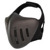 AÇÃO UNIÃO MK036 TPU Tático Máscara Caça Ao Ar Livre Ciclismo Esportes Máscaras Com Tampa Da Cabeça-Cor Pura