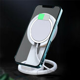 Bakeey for MagSafe Charger Base Stand Mount Dock Holder Suporte de mesa para iPhone 12 Series