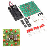 DIY Glücksrad Trainingsmodul Satz Electronic Lucky Rotary LED Flash Satz