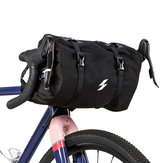 SAHOO 900D Twill 3-5L Cycling Bicycle Basket Handlebar Bag Tear-Resistant Waterproof Bike Bag
