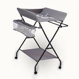 Stół do przewijania niemowląt Składana stacja na pieluchy Organizer do przedszkola do przechowywania niemowląt