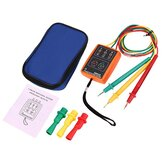 SM852B 60V-600V AC 3 Phase Rotation Tester Indicator Detector Meter Array Presence With LED Buzzer