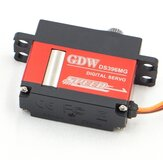 GDW DS396MG 12KG Large Torque High Voltage Metal Gear Digital Servo for RC Models