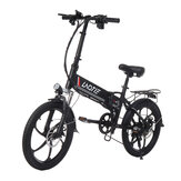 LAOTIE® PX5 48V 10.4Ah 350W 20in Folding Electric Moped Bike 35km/h Top Speed 80km Mileage E-Bike EU Plug