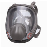Reusable 6800 Full Face Gas Mask Spraying Painting Respirator Silicone Facepiece