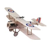 Dancing Wings Hobby SE5A 378 mm Spanwijdte Balsahout Lasergesneden tweedekker RC-vliegtuig