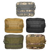 Multifunctional Rescue Medical Package Camouflage Outdoor Tactical Army Molle Bag Hiking Travel Tool Bag