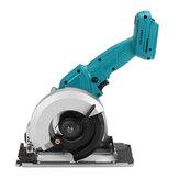 Sega circolare elettrica portatile ricaricabile senza spazzole Mini lavorazione del legno adatta per Makita 18 / 21V Batteria