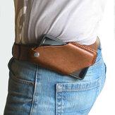 Мужчины Натуральная Кожа 4,7 дюйма ~ 6,5 дюйма Телефон Сумка Талия Сумка Easy Carry EDC Сумка Для На открытом воздухе