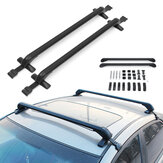 Pair 105cm Roof Cargo Rack Cross Bars Luggage Carrier Holder Anti-theft Car SUV