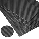 RJXHOBBY 3K 500x400x0.5/1mm Cross Grain Matte Surface Full Carbon Fiber Sheet