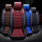 5 / 7Seats Car Front Seat Cover Waterproof Dustproof PU Leather Protector Mat Pad