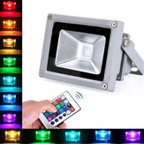 10W Remote Control RGB Outdoor LED Flood Light Wodoodporna lampa ścienna AC100-245V