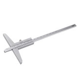 0-150/0-200/0-300mm Vernier Depth Gauge Woodworking Depth Measuring Tool
