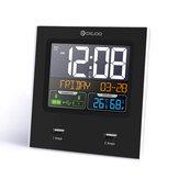 Digoo DG-C3X Tijd Kalender 12hr / 24hr Format Switchable Temperatuur-vochtigheidsweergave Dual Clock