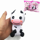 Squishy Baby Cow Jumbo 14cm Slow Rising With Packaging Dieren Collectie Cadeau Decor Toy