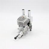 Stinger 15CC Gasoline Engine 2 Cycle Piston Value Tipo RE (Exaustão Traseira) / SE (Exaustão Lateral) 6-14V 1500-15000rpm Suporte 1306 1406 1308 1508 1506 Prop para Avião RC de Asa Fixa