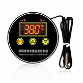 ZFX-W1602 Adjustable Thermostat Switch with Digital Display Intelligent Temperature Controller High-Precision Incubator