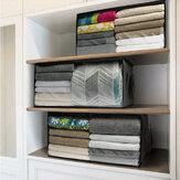 [حجم كبير] 3life طوي حقيبة التخزين المنزلية الملابس البطانيات سلال سترة لحاف صندوق تخزين منظم