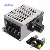 Regulador de Voltaje 4000W 220v AC SCR Controlador de Velocidad del Motor Eléctrico