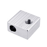 Anet® 20*20*10mm Φ6 M6 Aluminium Heating Block for Prusa i3 3D Printer Extruder Hot End