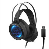 SUTAI V1 Game Headset 7.1 Channel USB Wired Bass Gaming Headphone Stereo Headset Headset with Mic for Computer الكمبيوتر Gamer