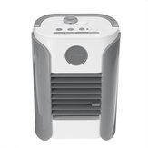 Ventilatore da tavolo estivo portatile per umidificazione spray a 3 ingranaggi Mini ventilatore per aria condizionata