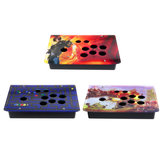DIY Handle Arcade Joystick Game Controller Acrylic Panel Case Replacement