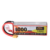 ZOP Power 14.8V 4000mAh 100C 4S Lipo Batterie XT60 Plug pour RC Racing Drone