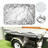 225x170cmx35cm Camping Trailer Tent Waterproof Cover Anti-UV Dust Protector