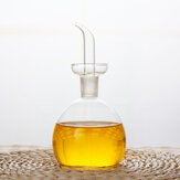 125ml/250ml/500ml Capacity Olive Oil Vinegar Pourer Glass Bottle Seasoning Cook Condiment Cruet Dispenser