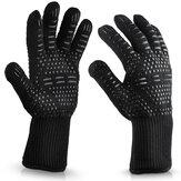 Silikon Extreme 500 ℃ Hitzebeständiger Handschuh, der Ofen heißer Mitt BBQ-Grillhandschuh kocht