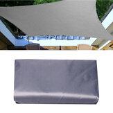 3X4/5/6MTendaToldo Heavy Duty Vela Canopy Pátio Quintal Camping Ao Ar Livre Abrigo Do Jardim UV tela