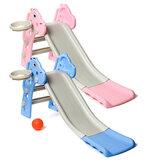Bebê Crianças Kid Long Slide Play Climber Household Indoor / Outdoor Playground Crianças Brinquedos
