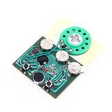 Programlanabilir Müzik Kurulu Tebrik Kartı DIY Hediyeler Için 30 sn 30 S Anahtar Kontrol Ses Ses Ses Kaydedilebilir Kaydedici Modülü