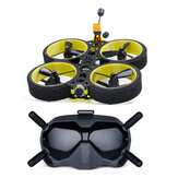 iFlight BumbleBee HD V2 4S 6S HD 3 Inch CineWhoop FPV Racing Drone BNF w/ DJI FPV Air Unit DJI FPV Goggles