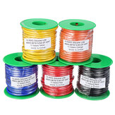 10m 14AWG Wire Soft سيليكون Cable Wire High Temperature النحاس المعلب