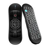 Wechip R2 Air ratón con control de voz, transmisión inalámbrica de 6 ejes, retroiluminación Type-C, interfaz para TV Caja/Proyector / PC