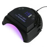 充電式64W UV LEDゲルネイルライトアートポーランド乾燥機