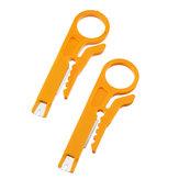 2 قطعة صغيرة محمولة متعددة الأدوات قطع خط سلك متجرد ذو طيات لكابلات طابعة ثلاثية الأبعاد وأنبوب PTFE
