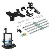 Kit completo de rieles lineales Creality 3D® para Ender-3S / Ender-3 Pro Pieza de impresora 3D con nivelación Sensor
