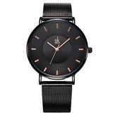 SK K0059 Ultra Thin Fashionable Full Steel Women Wrist Watch