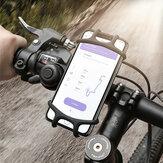 Floveme Elastic Verschleißfeste Silikon Fahrrad Fahrrad Lenkerhalterung für iPhone Handy