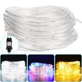 10M 100LED Outdoor Tube Corda Fita de luz RGB Lâmpada de Natal Luzes de decoração para casa