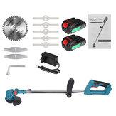 21V elektrischer Rasenmäher Akku-Grasschneider Cutter Pruning Weed Garden Tools