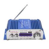 Kentiger ™ HY3006 2 canais Hi-Fi Áudio estéreo Mini amplificador Car Home MP3 USB FM SD com remoto 12V