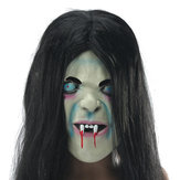 Látex Scary Long Cabello Máscaras faciales de Halloween SADAKO Hallowmas Ghost